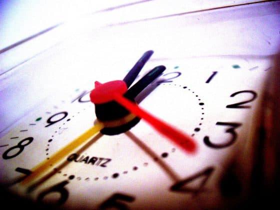 Un chronomètre ou un réveil peut vous aider dans l'organisation de vos tâches