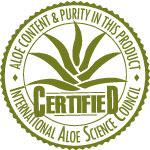 Label de qualité pour les produits à l'Aloe vera