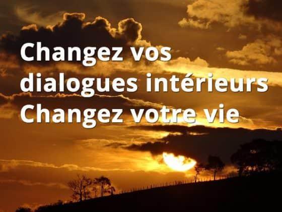 Estime de soi et dialogues internes