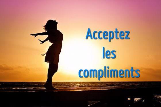 acceptr les compliments pour augmenter l'estime de soi